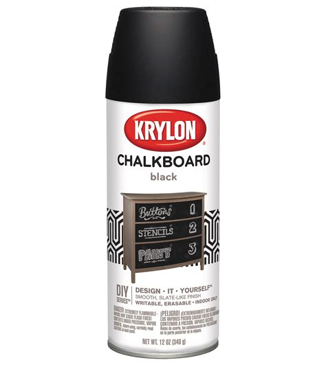 chalk paint joann chalk board paint 12 ounce aerosol jo