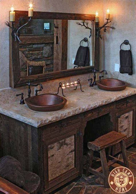 Rustic Themed Bathroom by Best 25 Rustic Style Ideas On Rustic
