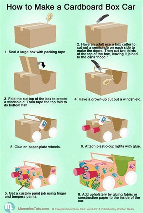 how to make boxes out of card 25 best ideas about cardboard box cars on