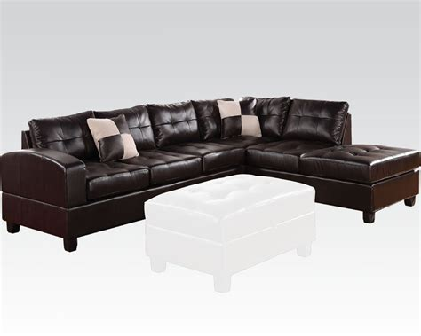 acme sectional sofa acme sectional sofa acme easy rider reversible sectional