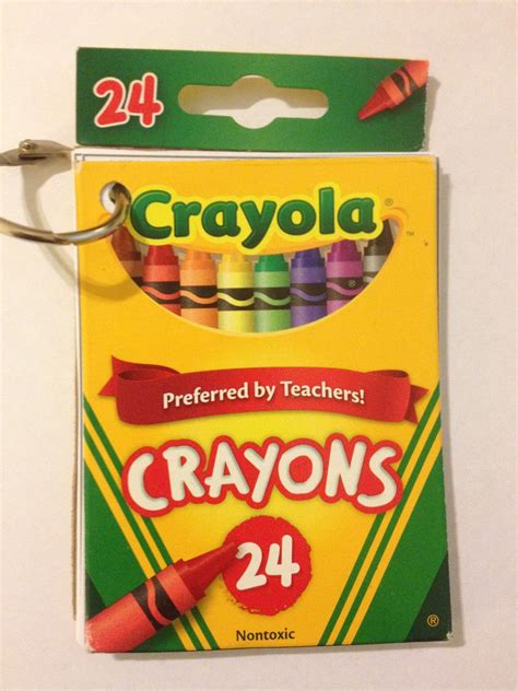 crayon picture book smart crayon box books