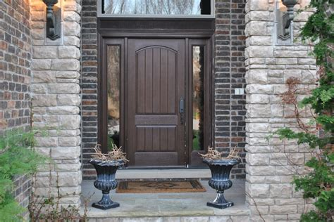 brown front doors front door brown decorating