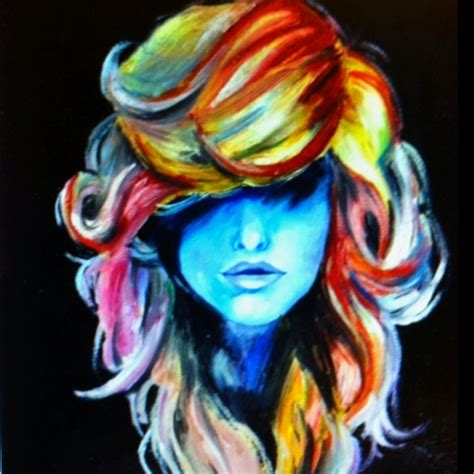acrylic painting hair 17 best images about hair paintings on color