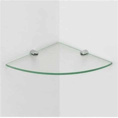 glass corner shelves bathroom 4mm clear shelves glass tempered bathroom floating corner