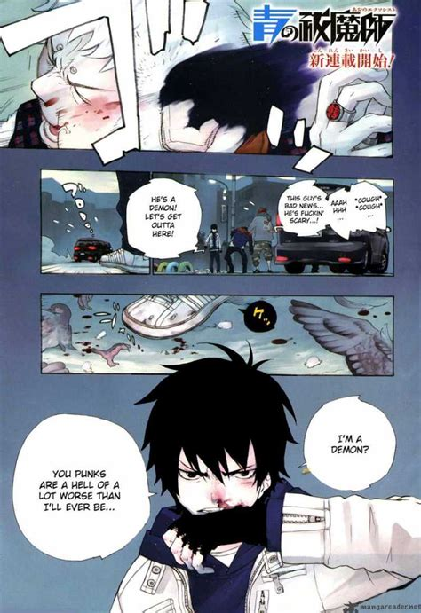 read blue exorcist ao no exorcist 1 read ao no exorcist 1 page 1