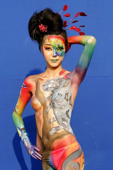 2009 Daegu International Bodypainting Festival Zimbio
