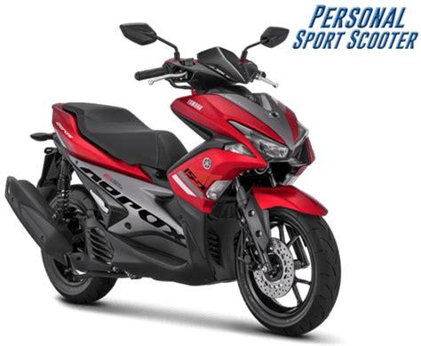 Pcx 2018 Aerox by Yamaha Aerox 155 Vva 2018 Tipe Standart Warna Merah