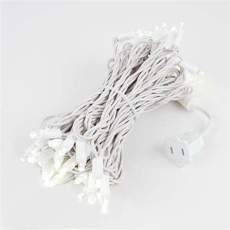 twinkle led lights twinkling led lights on white wire with 50 wide