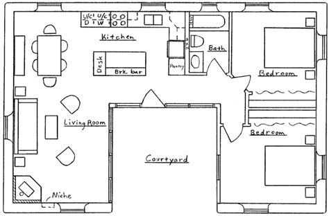 u shaped home with unique floor plan house plans and home designs free 187 archive 187 floor
