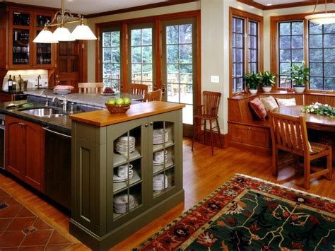 arts and crafts style homes interior design craftsman style kitchen cabinets hgtv pictures ideas hgtv