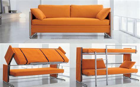 sofa to bunk bed convertible bonbon convertible doc sofa bunk bed inhabitat