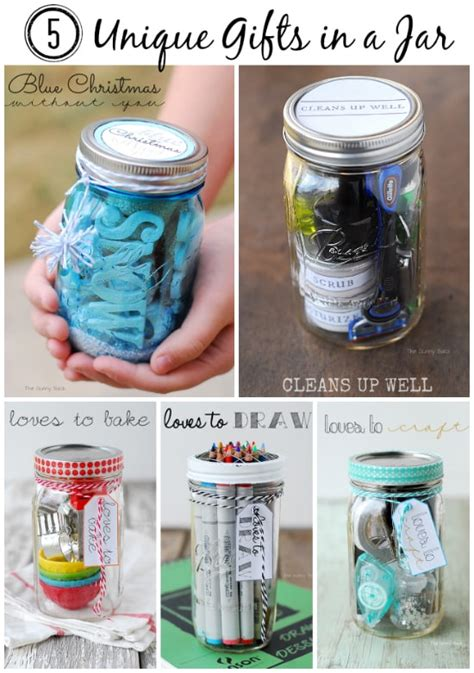 gifts with jars gifts in a jar gift ideas
