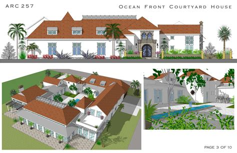 style homes with interior courtyards style courtyard homes cocoa florida