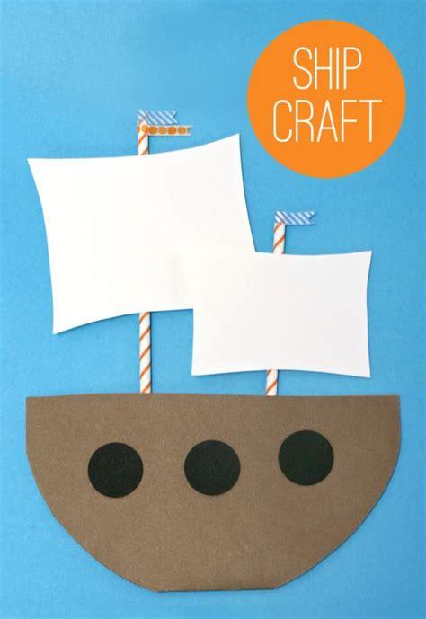 paper boat craft for preschoolers best 25 mayflower crafts ideas on