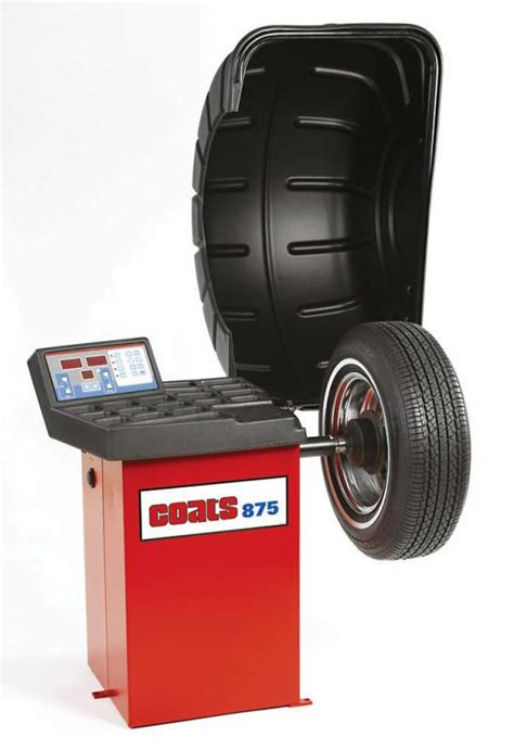 tyre balance ammco coats 875 wheel balancer tire balancing machine