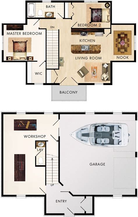 3 car garage with apartment floor plans best 25 garage apartment plans ideas on