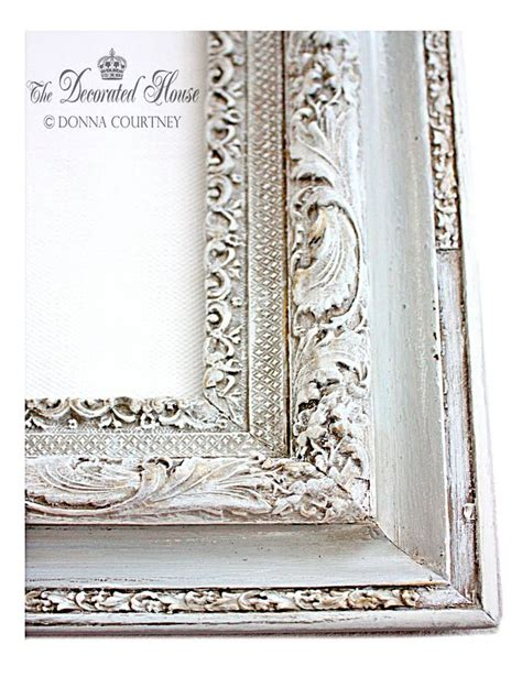 chalk paint picture frames the decorated house how to antique glaze a perfectly