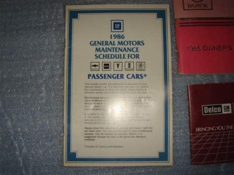service and repair manuals 1986 buick regal auto manual service manual 1986 buick regal fuse manual worn out 1986 cutlass supreme fuse box