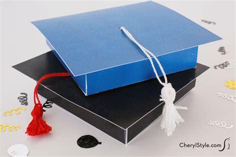 how to make a graduation card holder box printable graduation gift card holder everyday dishes diy