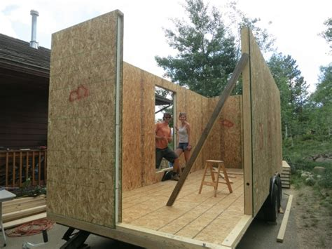 Structural Insulated Panel Home Kits vagabode tiny house debt free micro home built using sips