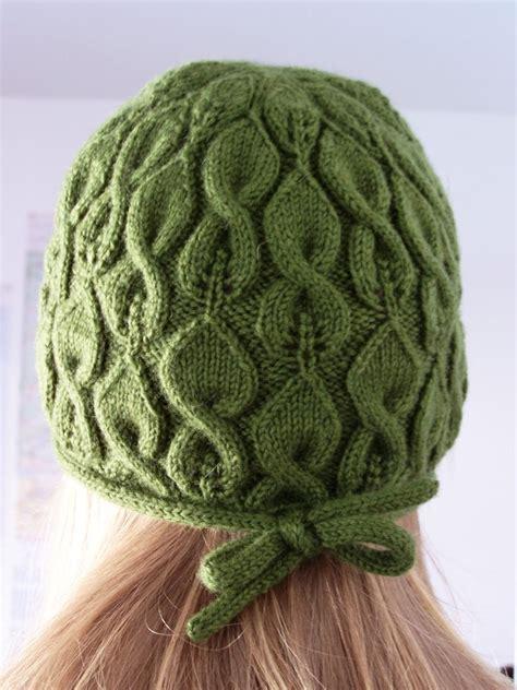 knit hat pattern cable knit hat pattern a knitting