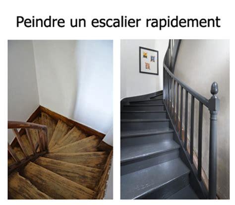 comment peindre rapidement un escalier en bois bricobistro