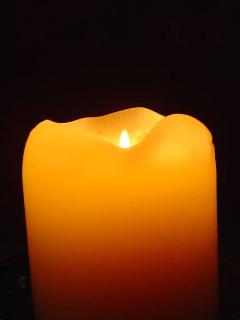 Orange Candle by Orange Candle In The Photos Domain