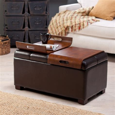 ottoman coffee table square ottoman coffee table wood