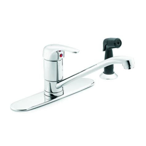 menards moen kitchen faucets moen m bition single handle kitchen low arc faucet at menards 174