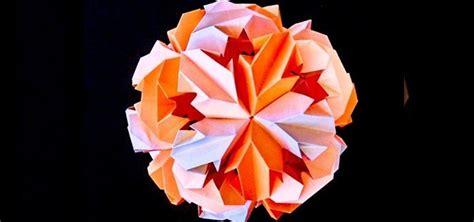 origami chrysanthemum how to origami a chrysanthemum 171 origami