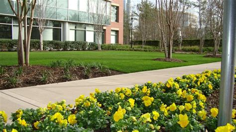 commercial landscape service commercial landscaping all seasons lawn care
