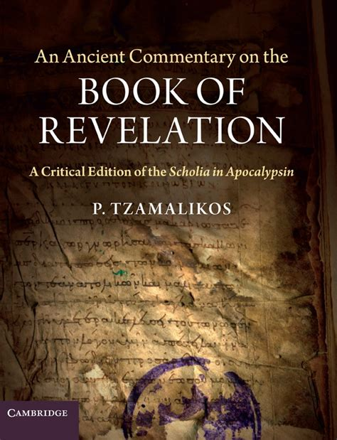 pictures of the book of revelation review of an ancient commentary on the book of revelation
