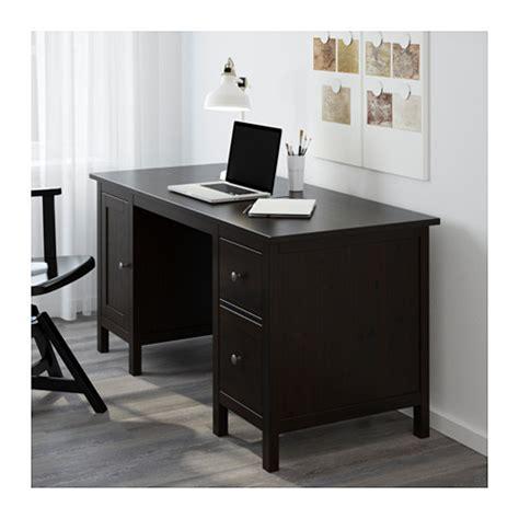 ikea hemnes computer desk hemnes desk black brown 155x65 cm ikea