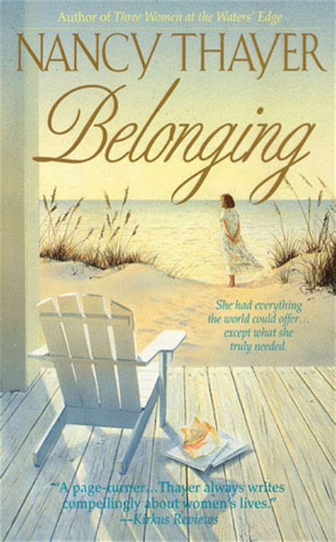 belonging picture books belonging by nancy thayer reviews discussion bookclubs