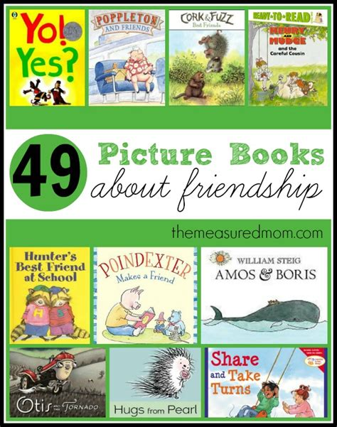 picture books friendship a list of books about friendship the measured