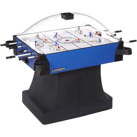 table hockey carrom signature stick rod hockey table w pedestal table