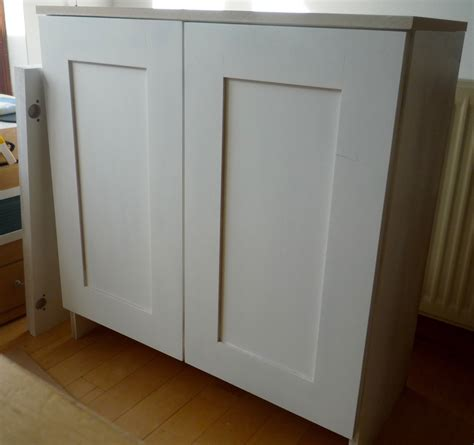 Primed Cabinets by Primed Mdf Cupboards With Shaker Style Doors Part I
