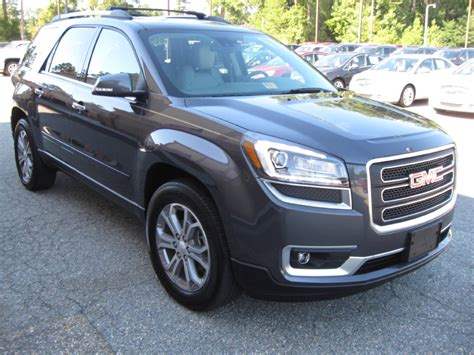 Gmc Acadia Review by 2014 Gmc Acadia Review Carfax