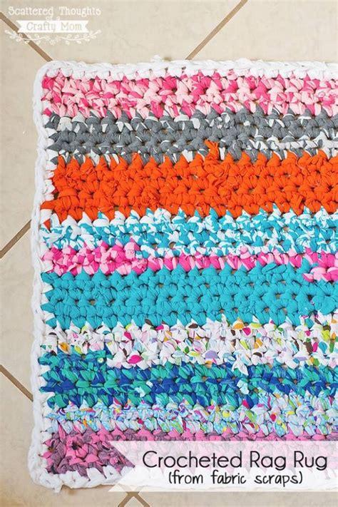 how to crochet a rag rug awesome diy crochet rag rug free pattern tutorial
