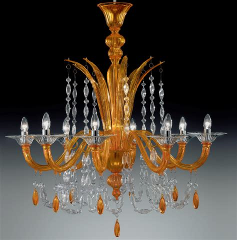 modern glass chandeliers orange color modern murano glass chandelier dml6009k8 chrome finish murano imports