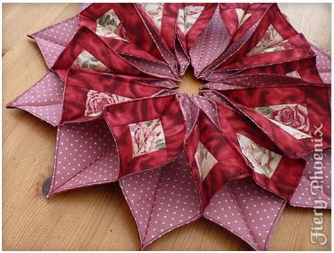 origami sewing table origami candle mat allfreesewing