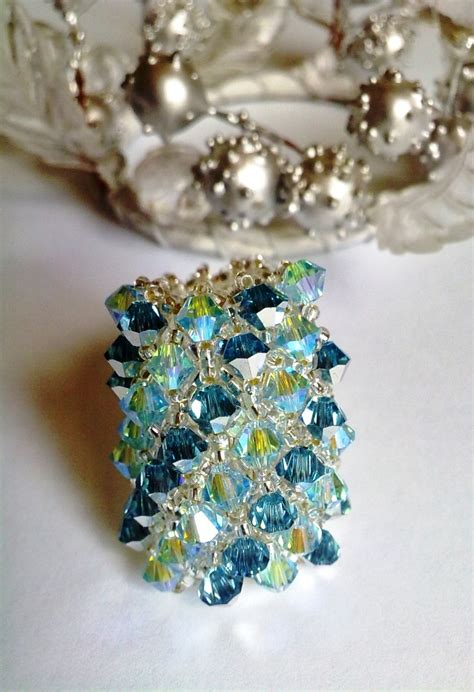 beaded ring 55 best images about beaded rings on right