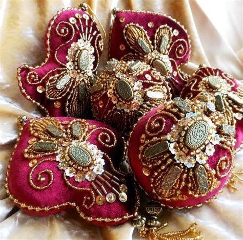 25 best ideas about embroidered ornaments on