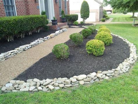 rocks for garden edging 12 attractive garden edging ideas with river stones that