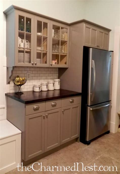 chalk paint grey kitchen cabinets chalk painting kitchen cabinets ohhh the counter tops