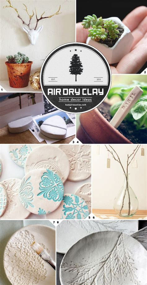 air clay projects crafts white air clay crafts