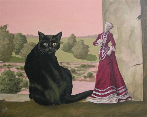 black cat painting step by step black cat paintings the pose francois knopf
