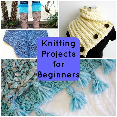 knitting project easy knitting crafts for beginners