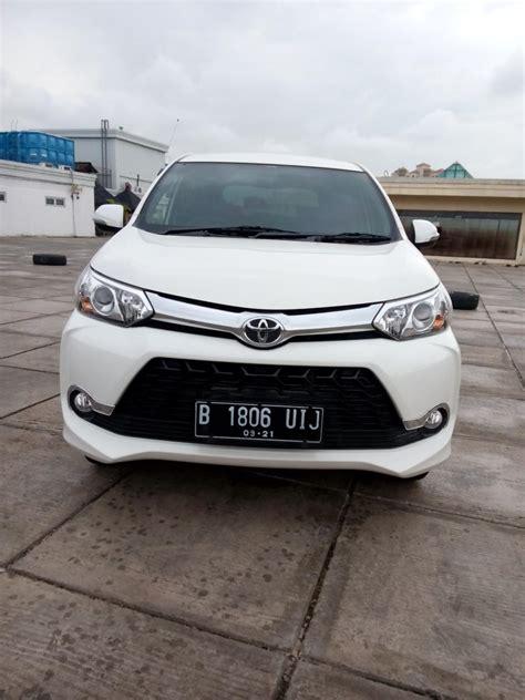 Mobil Bekas Avanza by Toyota Avanza 1 5 Veloz Matic 2016 Putih Mobilbekas