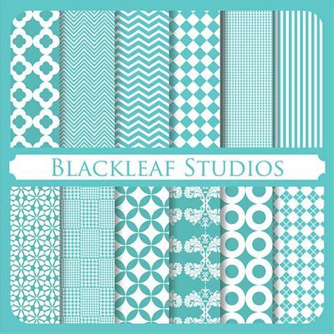 patterned craft paper blue digital scrapbooking paper pack background